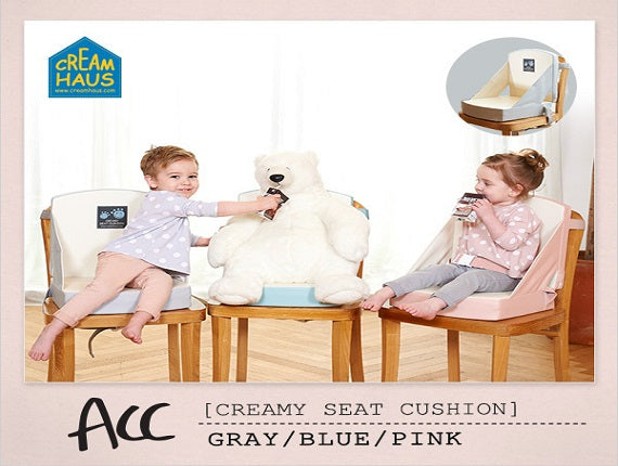 Creamy Seat Cushion Plus - Pink/Grey/Blue