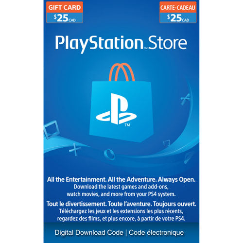 PlayStation Network $25 USD Code - 25 Dollar 25$ PSN US Store Card - PS4 PS3 USA - INSTANT DELIVERY - ORIGINAL NEW KEY CODE!