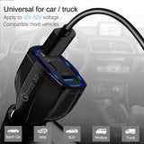 36W Quick Charge 3.0 Dual USB Car Charger Universal Travel Mobile Phone Charger For iphone Samsung Huawei - Reloook