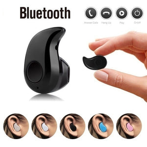 1pc Mini Invisible Ultra Small Bluetooth 5.0 Stereo Earbud In-Ear Headset with Microphone Support Hands-Free for Smartphones Perfect for Listening to Music at Work - Reloook