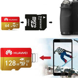 2019 new Huawei high speed 256GB 128GB 64GB USB drive Micro SD Micro SDHC Micro SD SDHC card 10 UHS-1 TF memory card + card reader - Reloook