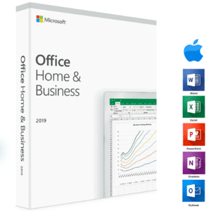 Microsoft Office Home and Business 2019 Mac - Instant Delivery - Original Key! - Reloook