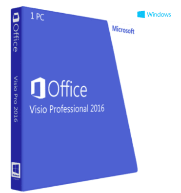 Microsoft Visio Professional 2016 - Instant Delivery - Original NEW Key Code! - Reloook
