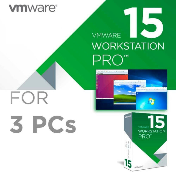 VMware Workstation 15 Pro - INSTANT DELIVERY - ORIGINAL NEW KEY CODE! - Reloook