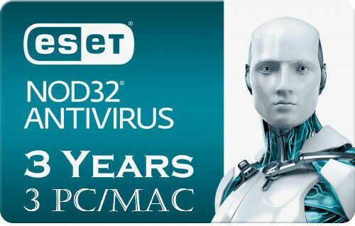 2019 ESET NOD32 Antivirus 2019 -3 Computers 3 years - INSTANT DELIVERY - ORIGINAL NEW KEY CODE! - Reloook