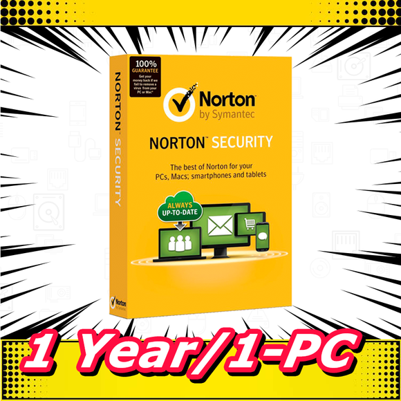 Norton Internet Security 2019 Antivirus Premium 1 Year / 1 PC (EU ONLY) - INSTANT DELIVERY - ORIGINAL NEW KEY CODE! - Reloook