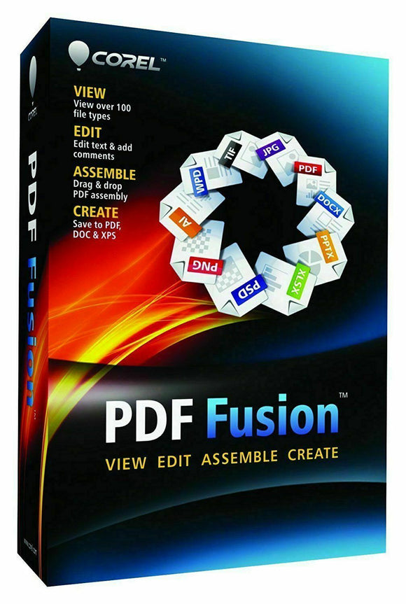 PDF Fusion Creator -  Lifetime -  Fully Licensed Versio - INSTANT DELIVERY - ORIGINAL NEW KEY CODE! - Reloook