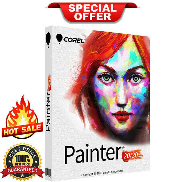 Corel Painter 2020 - INSTANT DELIVERY - ORIGINAL NEW KEY CODE!