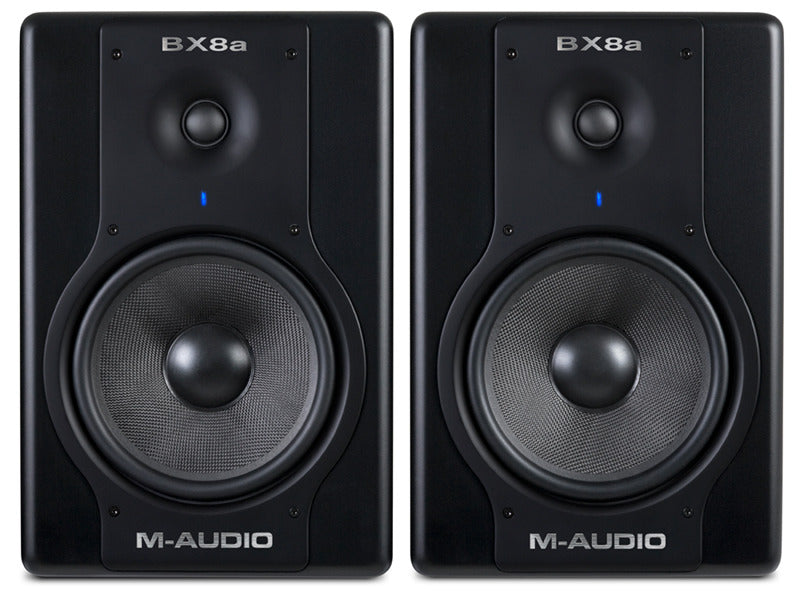 M-Audio BX8a Deluxe Studio Monitors