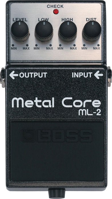 Boss ML-2 Metal Core Distortion