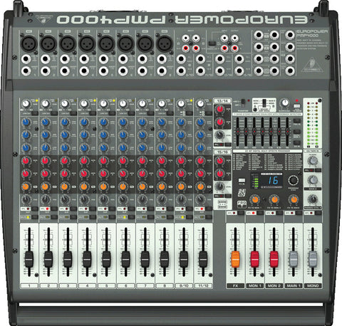 Behringer PMP4000 Powered Mixer