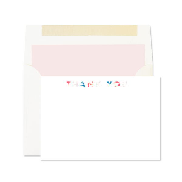 Flat Card Note Set