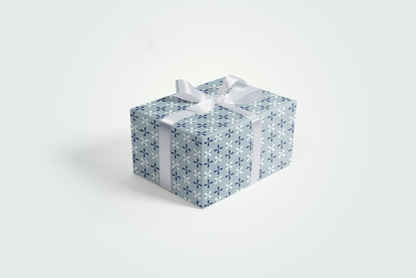 Winter Wonderland Snowflakes Gift Wrap