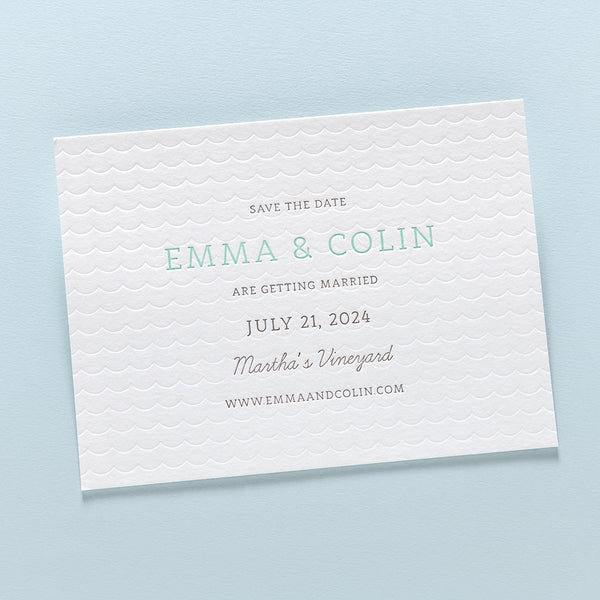 Emma + Colin Save the Date