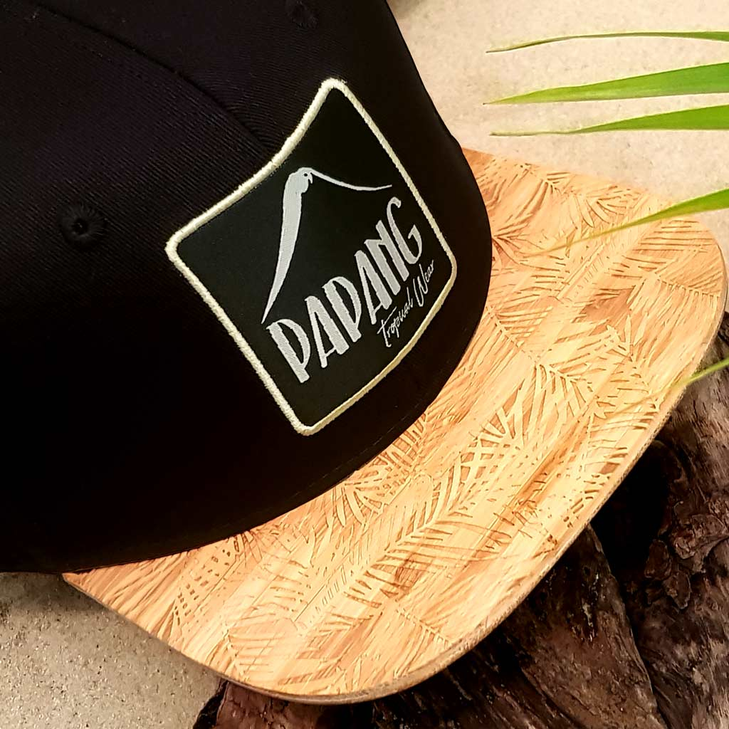 Casquette Bambou | Black Papang