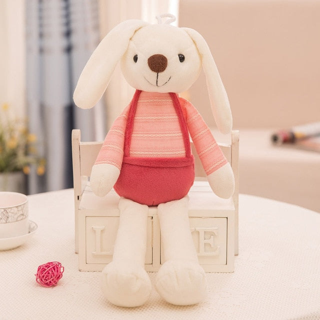 7a3a83d52295 40cm Cute Bunny Plush Rabbit Toy Soft Cloth Stuffed Rabbit Easter ...