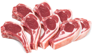 Lamb Cutlets 5 Star Sovereign Cap On Approx 1kg