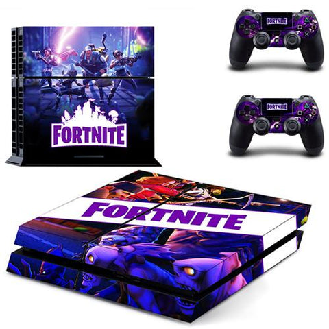 Skin PS4 Manettes et Console Dark Theme