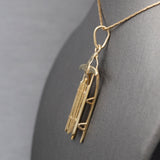 Vintage Ruby and Diamond Status Bracelet in 14k Yellow Gold
