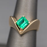 Modern Diamond and Pearl Heart Pendant Enhancer in 14k Yellow Gold