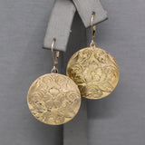 Victorian Bloodstone and Faux Agate Double Sided Locket in 14k Rose Gold