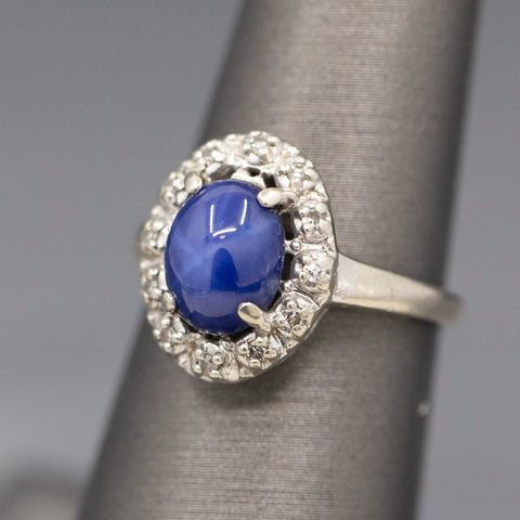 Vintage Carolee Sterling Silver and Black Pearl Clip On Earrings