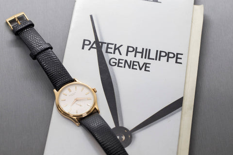 Patek Philippe Calatrava 18K Rose Vintage Watch, Patek Phillippe