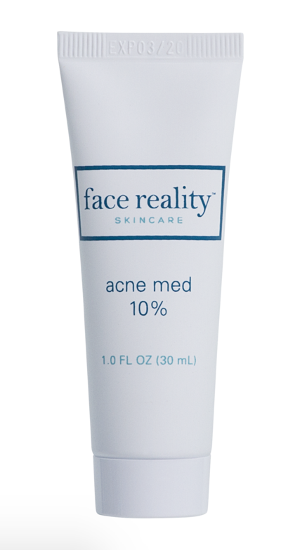 Face Reality Acne Med 10% (must email to purchase)