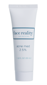 Face Reality Acne Med 2.5% (must email to purchase)