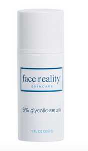 Face Reality 5% Glycolic Serum (must email to purchase)