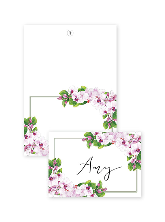 ORCHID PLACE CARDS