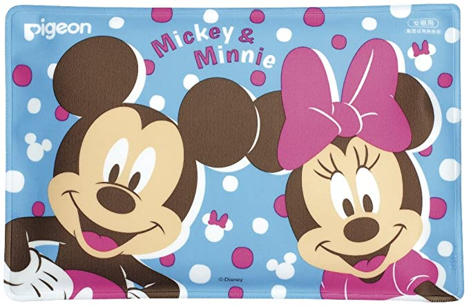 Pigeon Cool Pillow - Mickey & Minnie