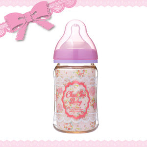 CHU-CHU Wide Neck PPSU Milk Bottle w/Silicone Teat