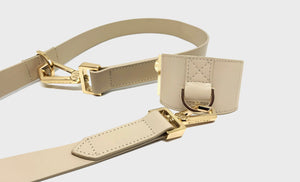 AVERY | LEASH & CUFF SET - SAND
