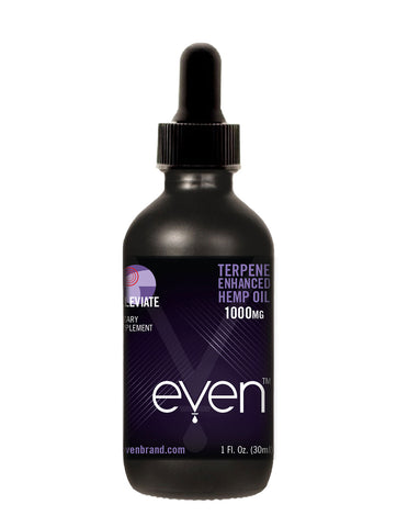 ALLEVIATE - Terpene Enhanced Oil Tincture - 1000mg Hemp Oil