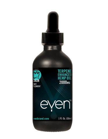 CALM - Terpene Enhanced Oil Tincture - 2000mg Hemp Oil