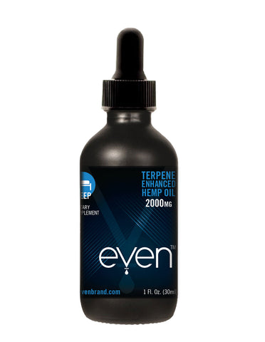 SLEEP - Terpene Enhanced Oil Tincture - 2000mg Hemp Oil