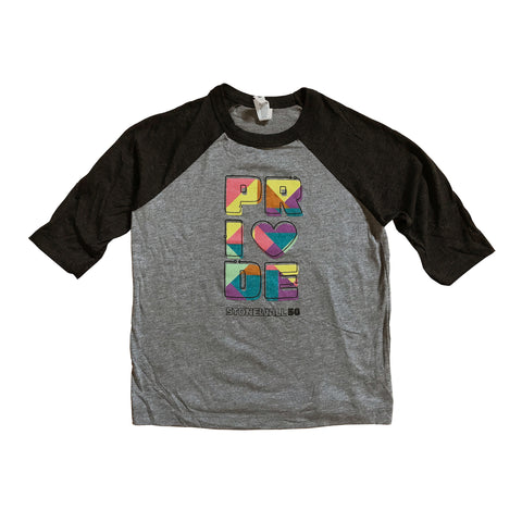 Kid's Raglan Pride Shirt