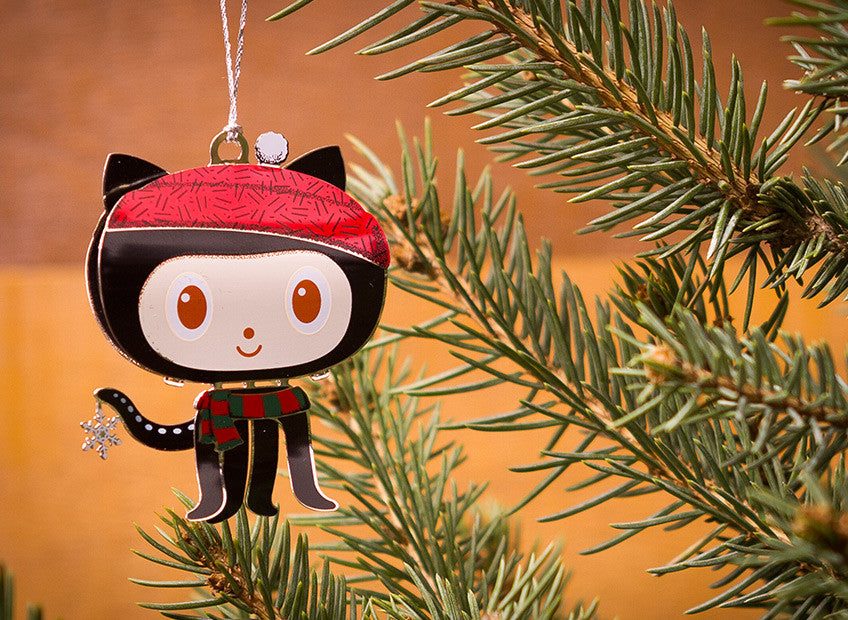 Octocat Holiday Ornament