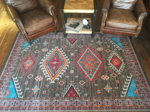 Persian Southwest Area Rug - Brown