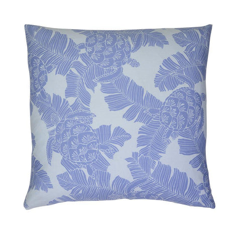 Cushion Turtle Blue Tropical Cushion