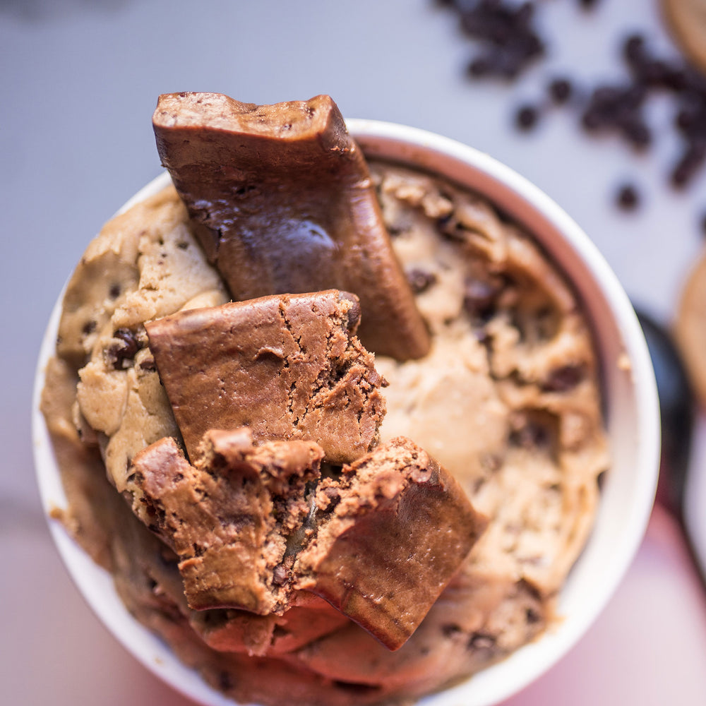 Chocolaty Cookie Dough Bar