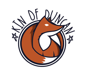 Kin of Duncan Tshirt Apparel for Kids, Dogs, and Dolls