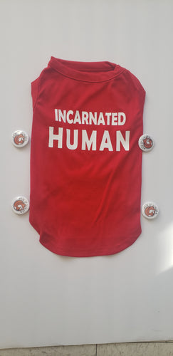 Incarnated Human Fitted T-Shirt