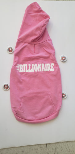 Billionare Fitted Fur Kid Hoodie