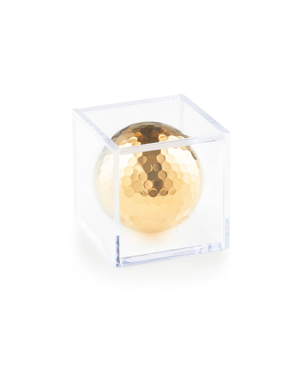 Gold Plated Golf Ball