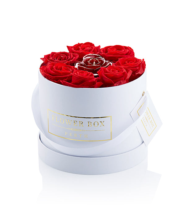 Everlasting Round Flower Box