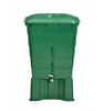 Image of GutterMate Square Water Butt 300L with Stand - Green