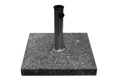Bambrella 30kg Grey Granite Base with Stainless Steel Pole