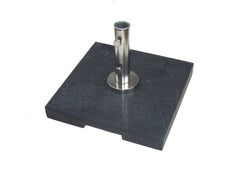 Bambrella 50kg Grey Granite Base with Pullout Handle and Wheels (Also in Dark Grey)